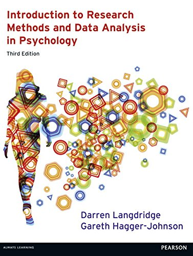 Introduction to Research Methods and Data Analysis in Psychology 3rd edn