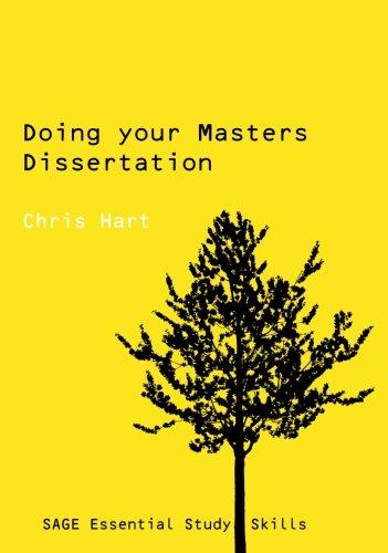 Dissertation doing master