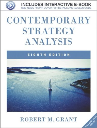 Contemporary Strategy Analysis: Cases Edition
