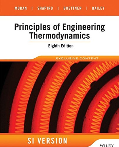 Principles of Engineering Thermodynamics, SI Version