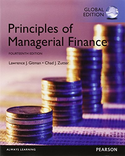 Principles of Managerial Finance, Global Edition