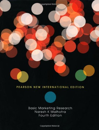 Basic Marketing Research: Pearson New International Edition