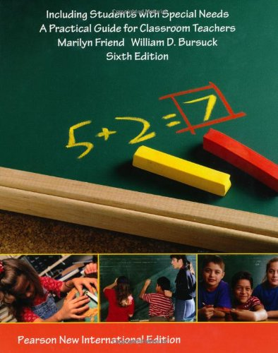 Including Students with Special Needs: Pearson New International Edition