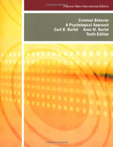 Criminal Behavior: Pearson New International Edition