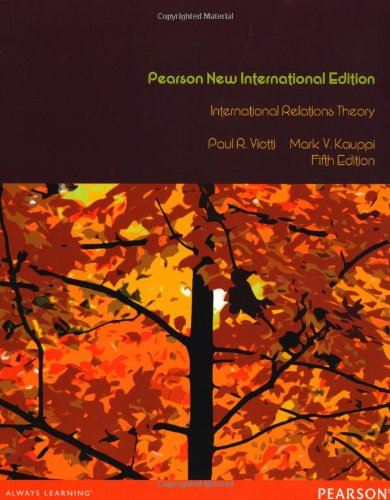International Relations Theory: Pearson New International Edition