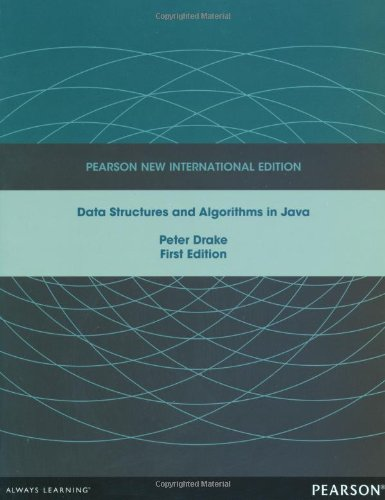 Data Structures and Algorithms in Java: Pearson New International Edition
