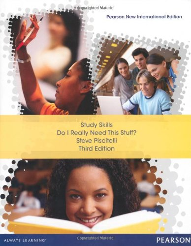 Study Skills: Pearson New International Edition