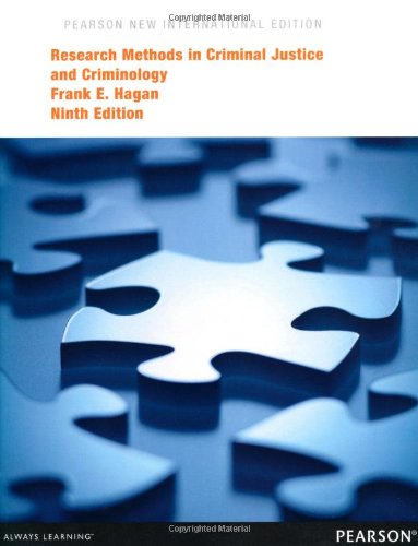 Research Methods in Criminal Justice and Criminology: Pearson New International Edition