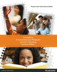 Counseling: Pearson New International Edition