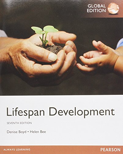 Lifespan Development, Global Edition