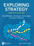 Exploring Strategy, Text and Cases, 12th Edition