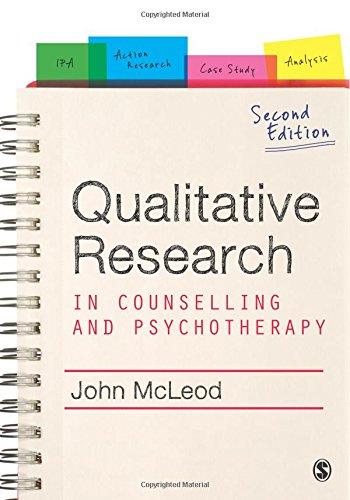 a qualitative study to show how