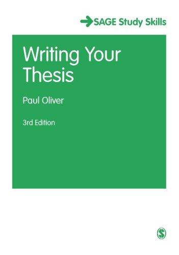 Thesis writing uk ebook