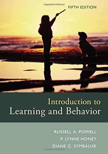 introduction to learning and behavior powell 5th edition pdf
