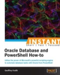 Instant Oracle Database and PowerShell How-to