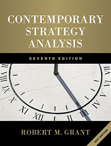 Contemporary Strategy Analysis - Text version