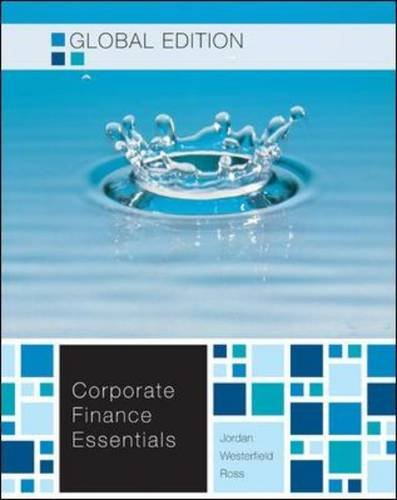 corporate finance chapter 7 solutions