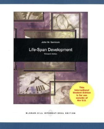 life span and development Study life-span development discussion and chapter questions and find life-span development study guide questions and answers.