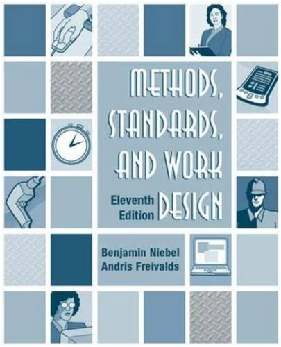 Methods, Standards, & Work Design