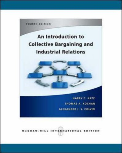 an introduction to the industrial relations in australia Chapter-i introduction of the industrial relations 11 introduction the term 'industrial relations' denotes relationships between management and workers in the industry.