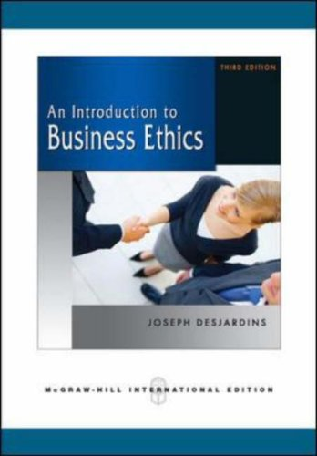 introduction to business ethics essay