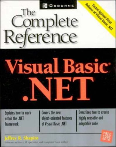 Visual Basic.NET: The Complete Reference
