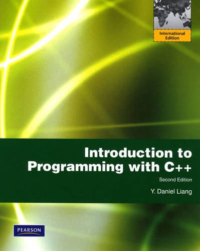 Introduction to Programming with C++: International Version