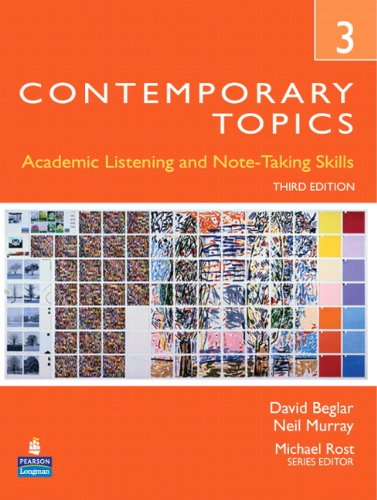 Contemporary Topics 3rd Edition Level 3 Students' Book