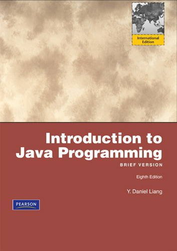 Introduction to Java Programming, Brief: International Version