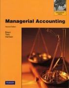 Managerial Accounting:International Edition
