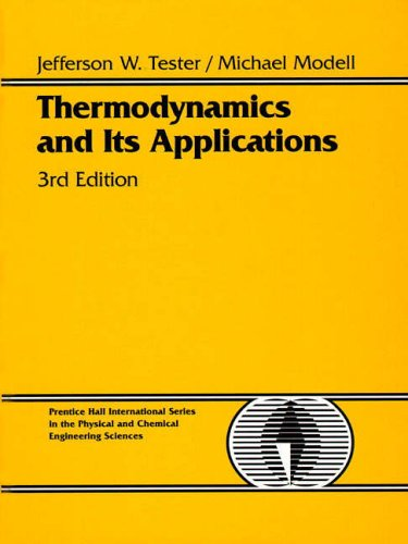 Thermodynamics and Its Applications (Prentice-Hall International Series in the Physical and Chemical Engineering Sciences)