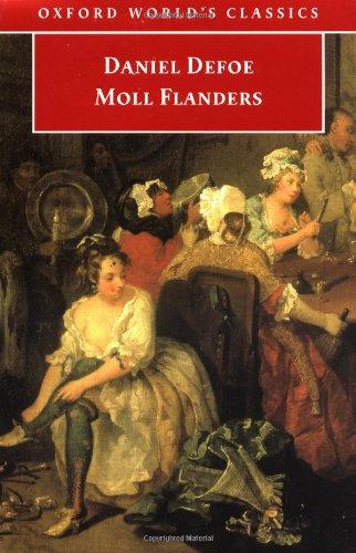 daniel defoes childhood mirrored in his book moll flanders