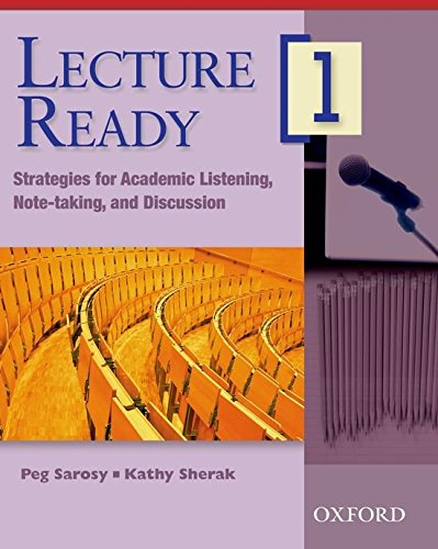 Lecture Ready 1: Student Book