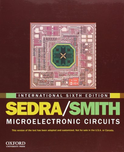 Microelectronic Circuits: International edition