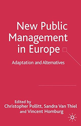 new public management thesis The wikipedia defines 'new public management (npm) as a management philosophy used by governments since the 1980s to modernise the public sector it is a broad and very complex term used to describe the wave of public sector reforms throughout the world since the 1980s.