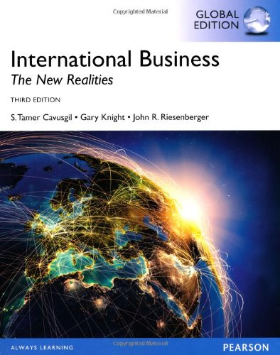 International Business: The New Realities