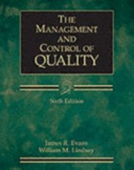 The Management and Control of Quality (ISE)