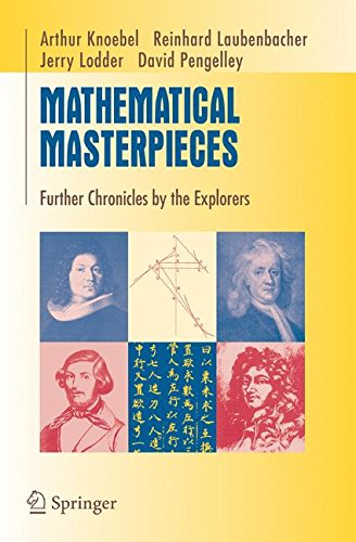 Mathematical Masterpieces: Further Chronicles by the Explorers (Undergraduate Texts in Mathematics)