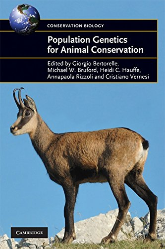 Population Genetics for Animal Conservation (Conservation Biology)