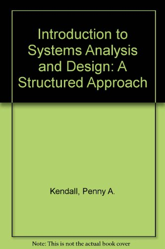 105525570 introduction to systems analysis design Introduction to systems analysis and design: a structured approach can be used in the introductory analysis and design class, which is taught at community and four-year colleges and at graduate schools.