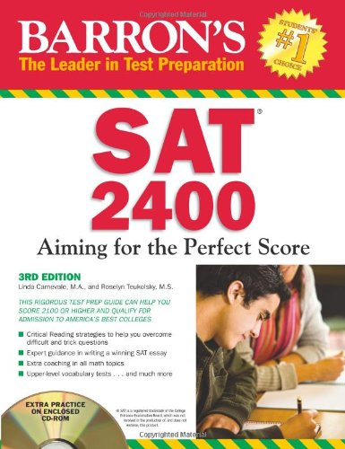 Sat 2400 Aiming For The Perfect Score