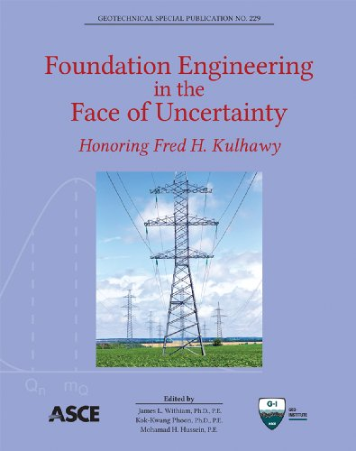Foundation Engineering in the Face of Uncertainty: Honoring Fred H. Kulhawy (Geotechnical Special Publications)
