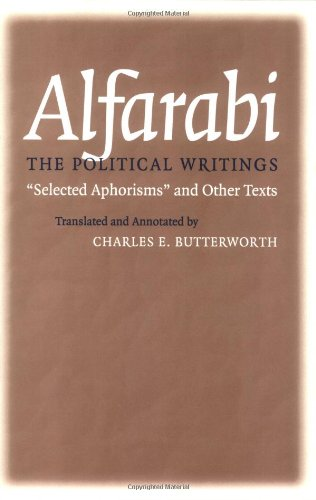 "Political Writings: ""Selected Aphorisms"" and Other Texts (Agora Editions)"
