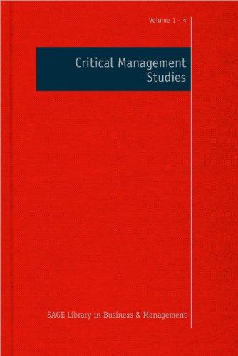 organisations and management studies