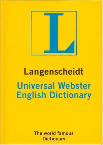 Langenscheidt's Universal Dictionary - Webster (Cep Boy)