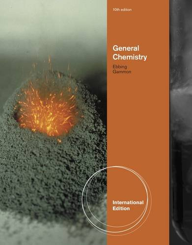 General Chemistry, International Edition