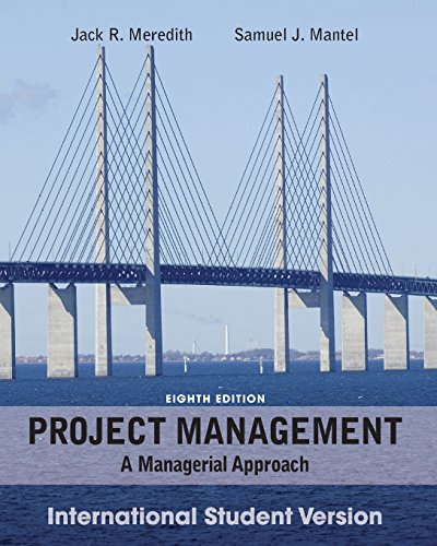 Project Management: A Managerial Approach.