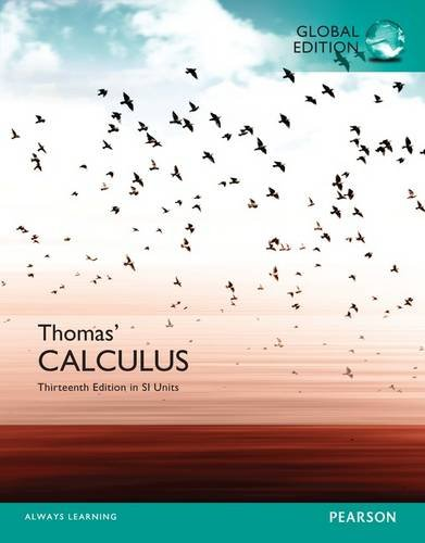 Thomas Calculus with MyMathLab