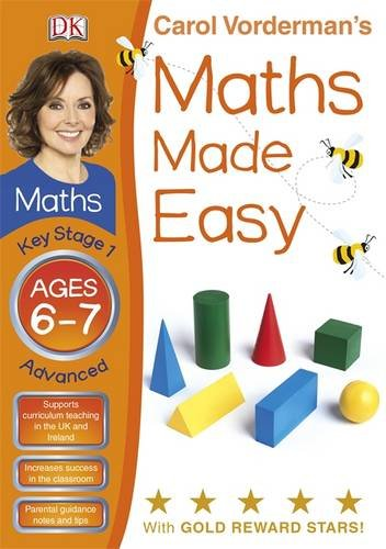 Maths Made Easy Ages 6-7 Key Stage 1 Advanced (Carol Vordermans Maths Made Easy)