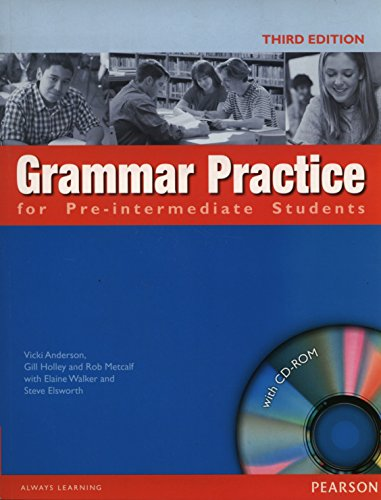 Grammar Practice Pre-intermediate Book and CD-ROM (no Key)